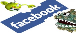 facebook worms and spammers