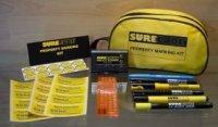 Zipper Bag Property Marking Kit