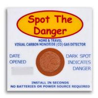 Carbon Monoxide Detector Patches