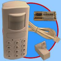 Motion Detection Wireless Burglar Alarm with Auto-dialer